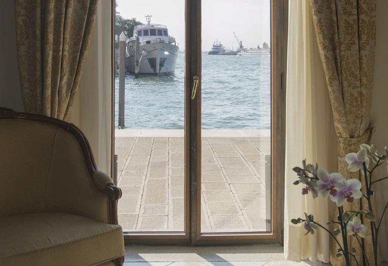 レジデンツァ グランディ ベドュテ, ベネチア, スタンダード アパートメント カナルビュー 1 階 (Burchio - Giudecca Canal View), 部屋からの景色