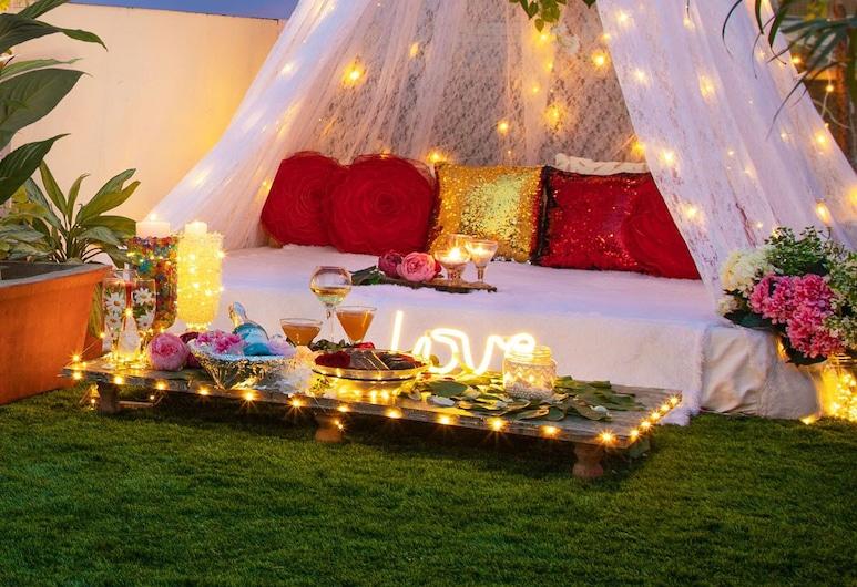 Hotel Sarang Palace, Jaipur, Jantar romântico