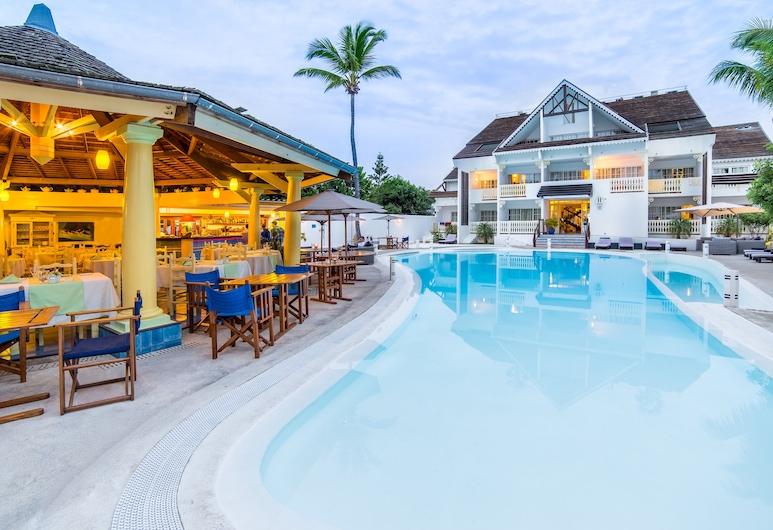 Hotel Le Nautile Beach, เซนต์พอล, สระว่ายน้ำกลางแจ้ง