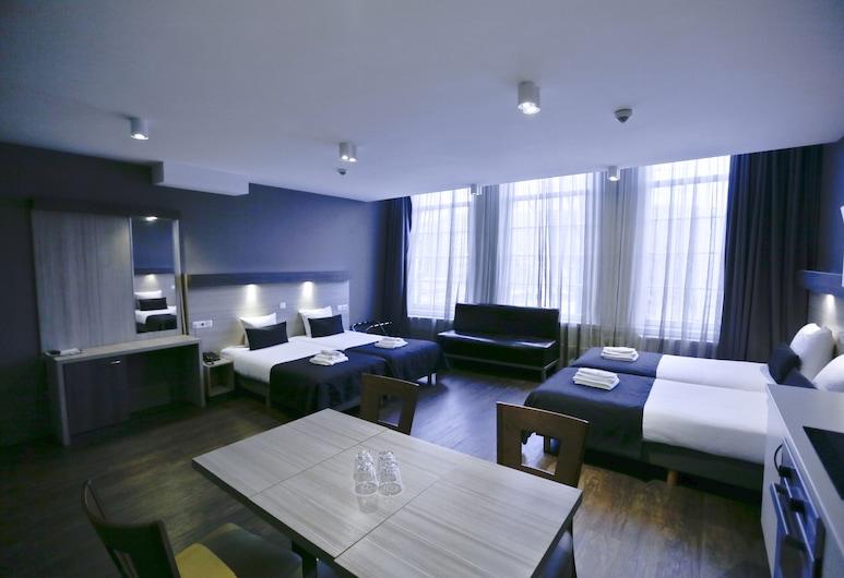 City Hotel Amsterdam, Amsterdam, Superior-Vierbettzimmer, Kanalblick, Zimmer
