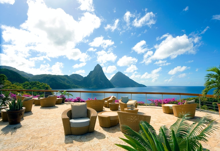 Jade Mountain Resort, Soufrière, Terrasse/Patio