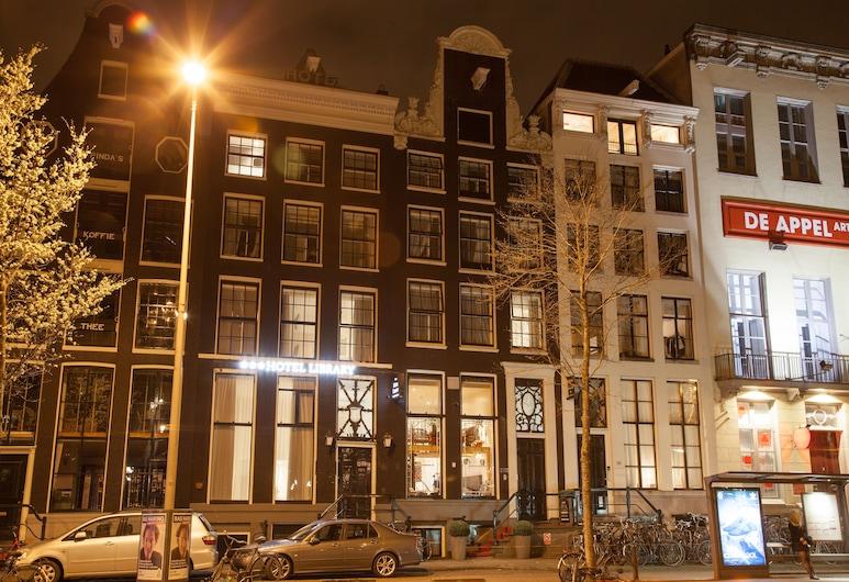 Hotel Library Amsterdam, Amsterdam, Façade de l'hôtel - Soir/Nuit