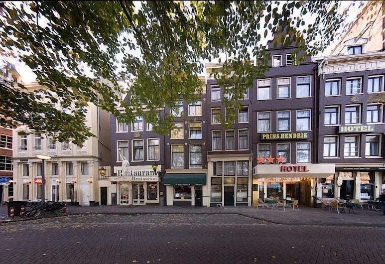Hotel Prins Hendrik, Amsterdam, Hotellfasad
