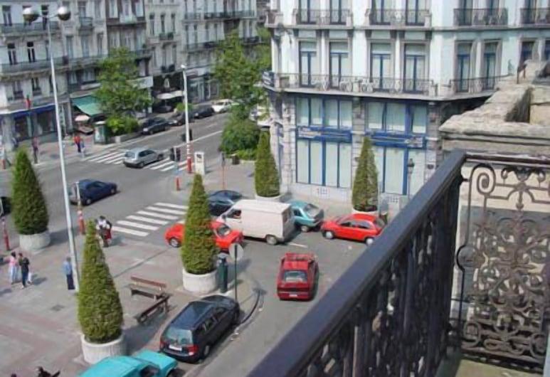 Hotel Mirabeau, BRUSEL, Jednolôžková izba, Výhľad z hosťovskej izby