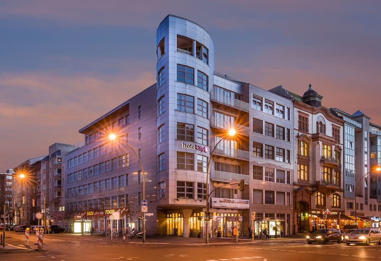 Novum Hotel City B Berlin Centrum, Berlin, Hotel Front – Evening/Night
