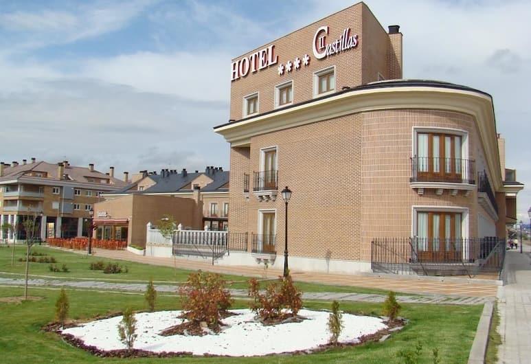 Dos Castillas, Avila, A szálláshely külső területe