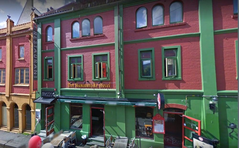 Det Hanseatiske Hotel, Bergen, Utvendig