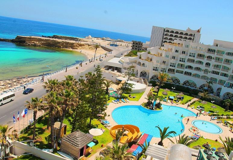 فندق دلفين الحبيب, المنستير, منظر من الجو