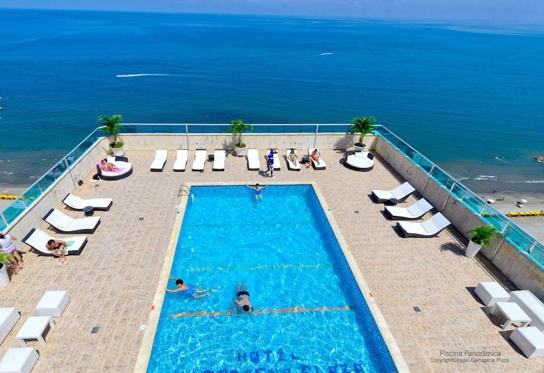 Hotel Cartagena Plaza, Cartagena, Pool