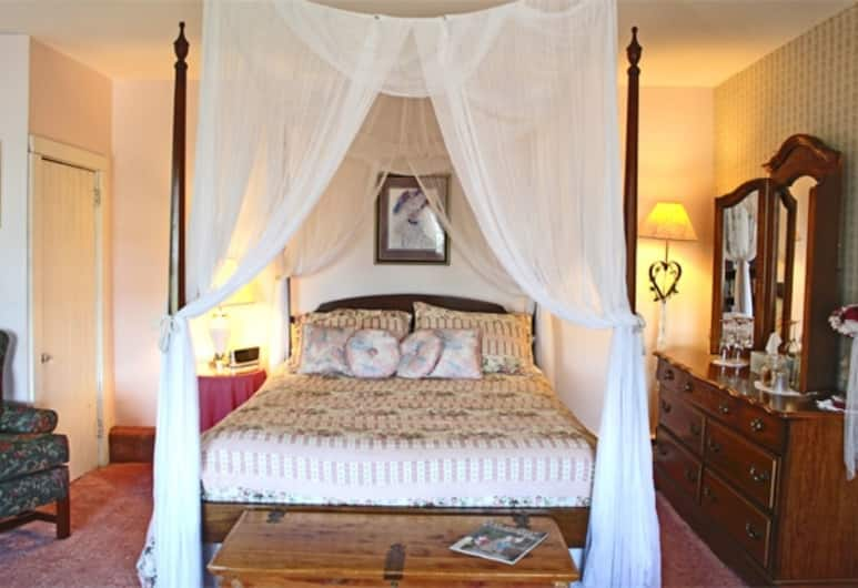 Belle Aire Mansion Guest House, Γκαλένα, Δωμάτιο, Ιδιωτικό Μπάνιο (Canopy Suite), Δωμάτιο επισκεπτών