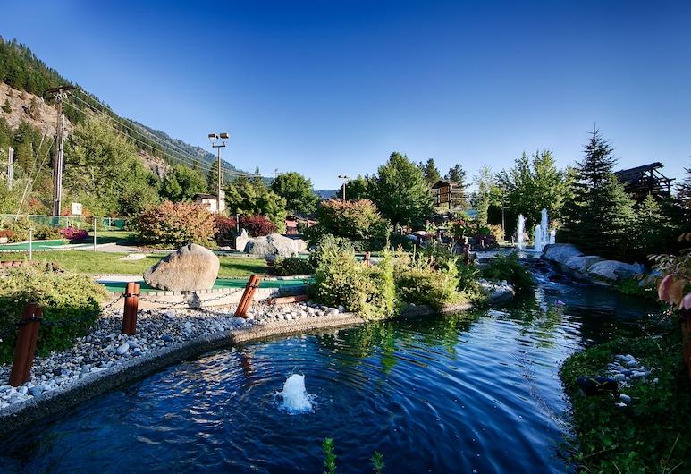 Icicle Village Resort, Leavenworth, Minigolf