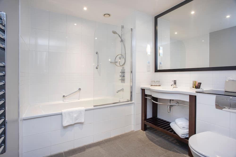 Deluxe kamer, 1 kingsize bed, niet-roken - Badkamer