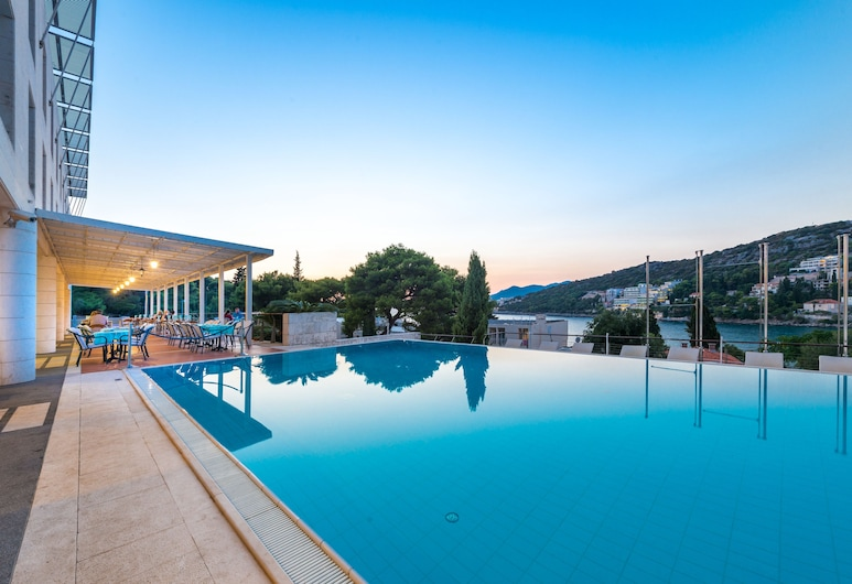 Hotel Uvala, Dubrovnik, Ulkouima-allas