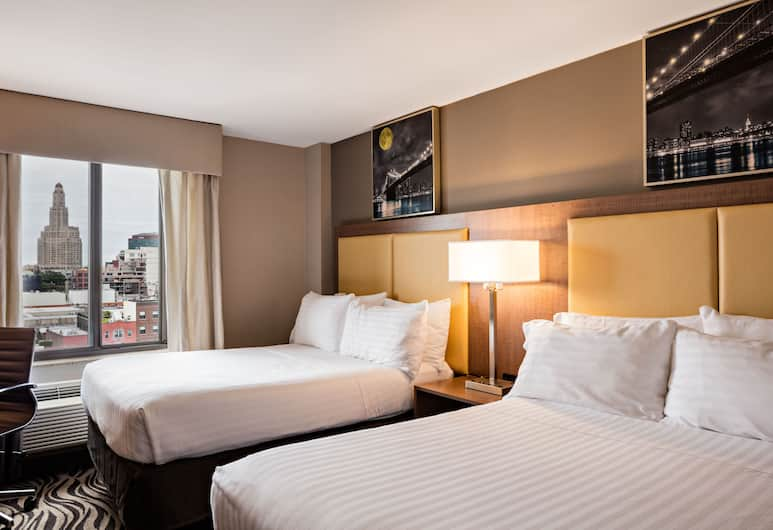 Holiday Inn Express Brooklyn, Brooklyn, Room, 2 Double Beds, Non Smoking, Guest Room