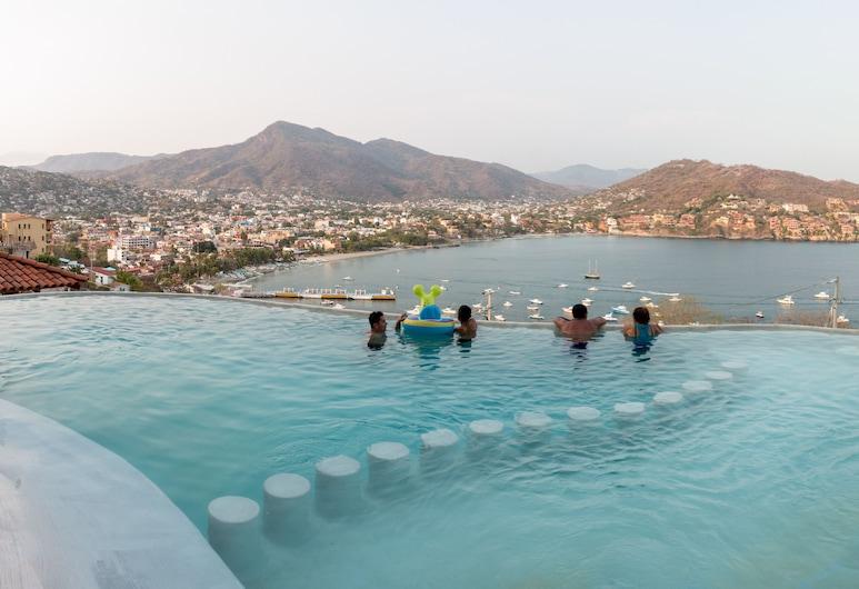 Hotel Villas El Morro, Zihuatanejo, Infinity Pool