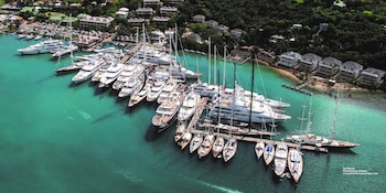 Picture of Antigua Yacht Club Marina in Falmouth Harbour