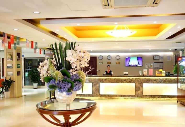 格林豪泰上海火車站北廣場中山滬太店, 上海市, 櫃台