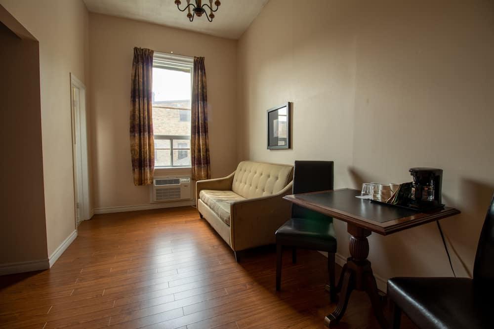 Deluxe soba, 1 bračni krevet, za nepušače, privatna kupaonica - Dnevna soba