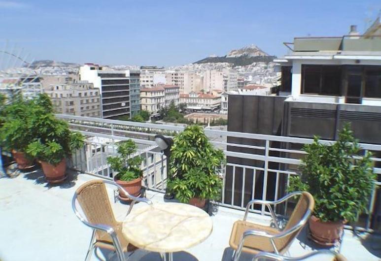 Economy Hotel, Athén, Terasz/udvar