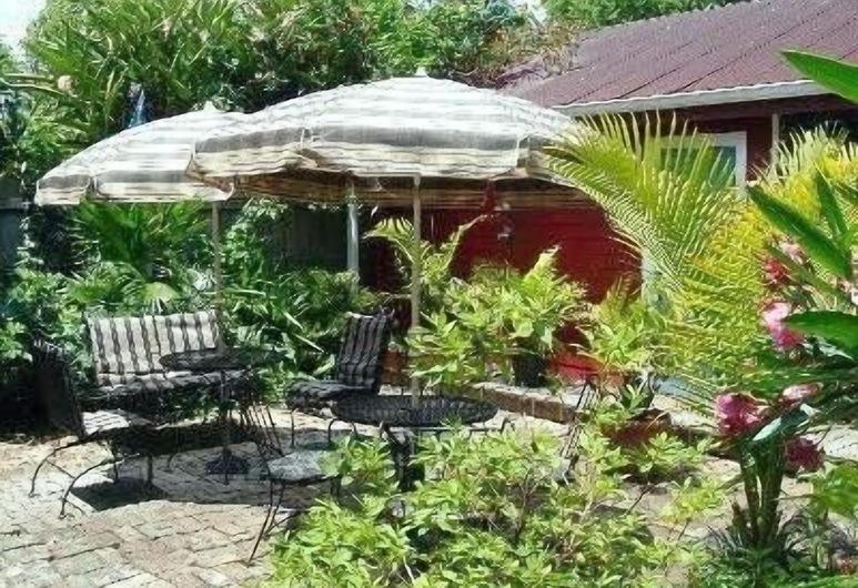 The Burgundy Bed and Breakfast, New Orleans, Açık Havada Yemek