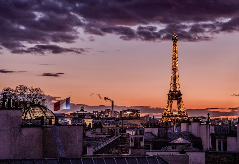 Le Pavillon des Lettres – Small Luxury Hotels of the Word, Paris, View from Hotel