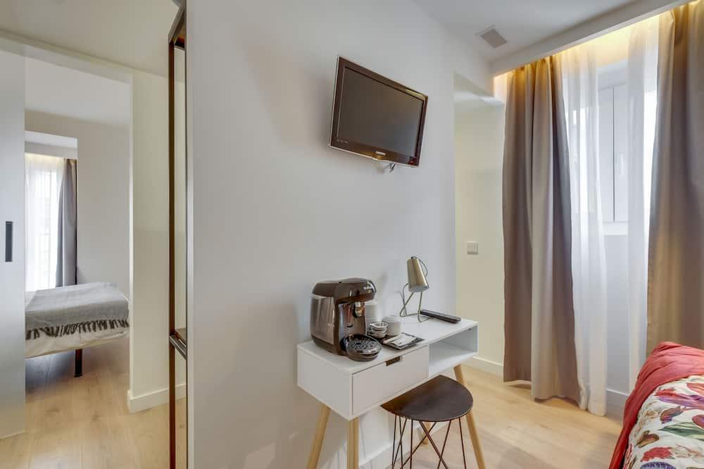 Apartmán typu Junior - Obývacie priestory