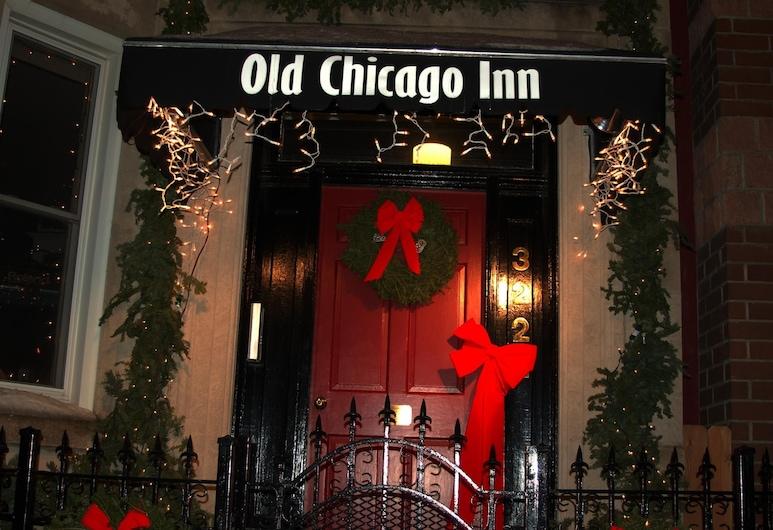 舊芝加哥客棧, 芝加哥, 飯店入口
