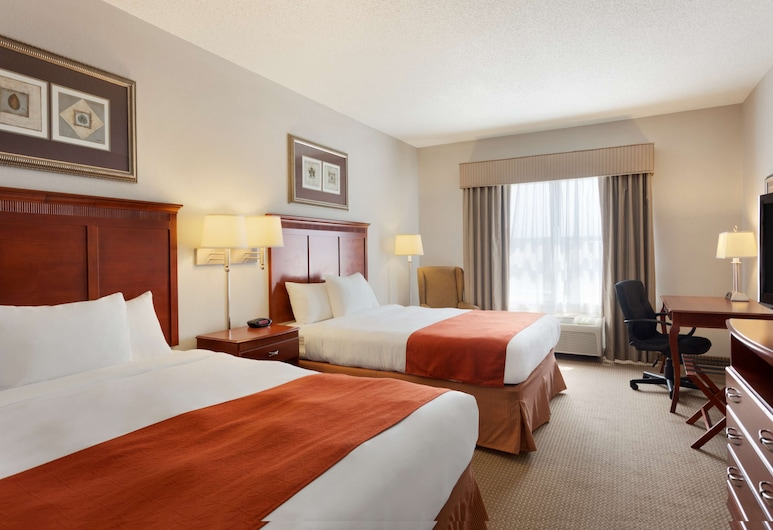 Country Inn & Suites by Radisson, Harrisonburg, VA, Harrisonburg, Room, 2 Queen Beds, Accessible, Non Smoking, Guest Room