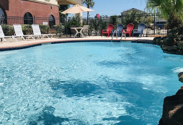 Econo Lodge Inn & Suites Beaumont, Beaumont, Kansas, Basen odkryty