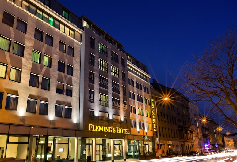Fleming's Conference Hotel Wien, Viena, Fachada do hotel