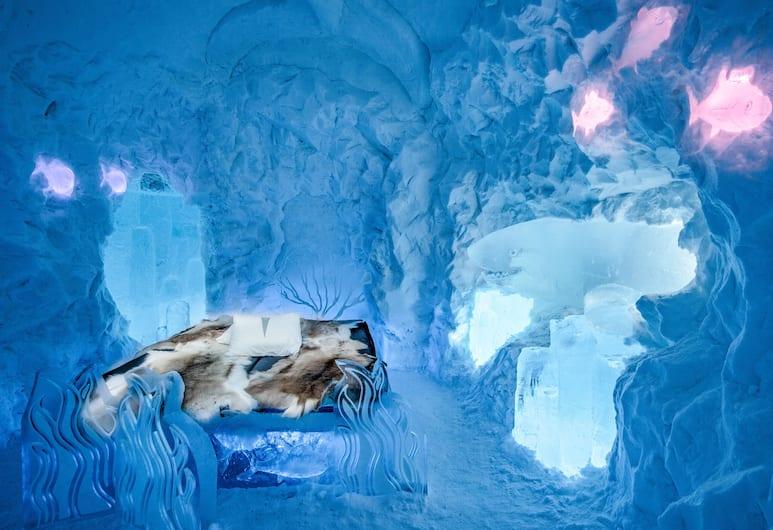 Icehotel, Jukkasjarvi, Artsuite, ICEHOTEL/Cold accommodation, Oda