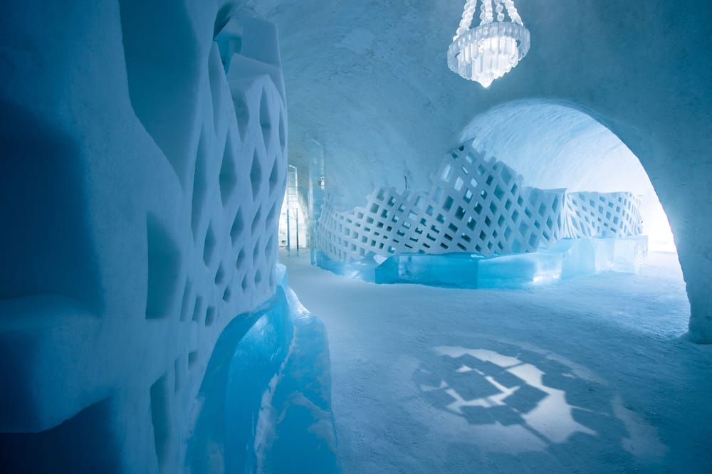 Iceroom, ICEHOTEL/Cold accommodation - Living Area