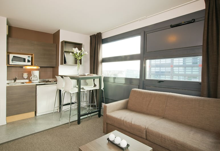 歐洲里爾住宿及商務酒店, Lille, 標準公寓, 1 間臥室, 客廳