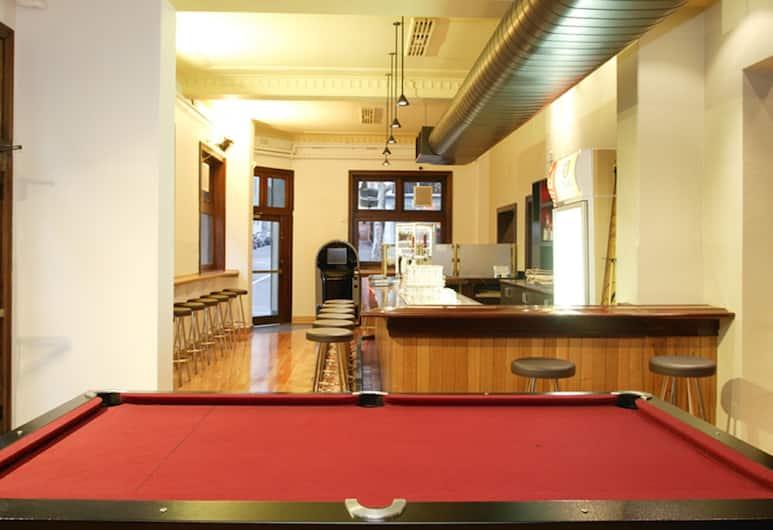 Hotel Sophia, Melbourne, Billiards