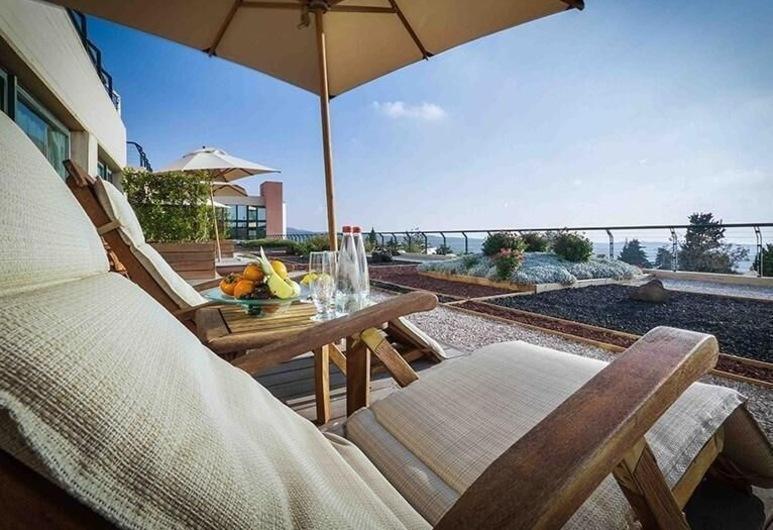 Carmel Forest Spa Resort, Hof HaCarmel, Oren Suite, Terasa/trijem