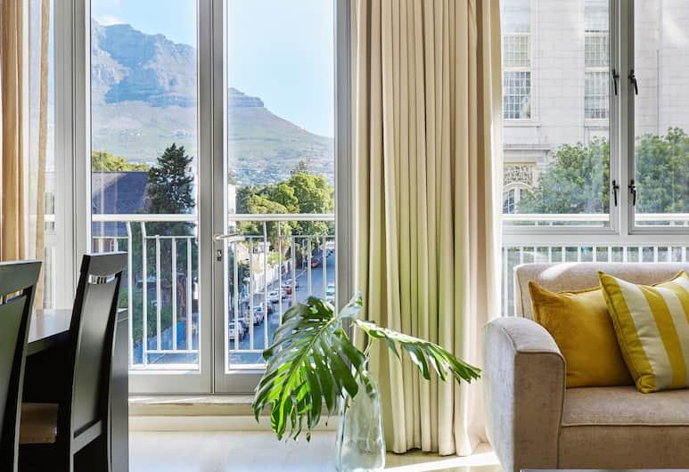 マンデラ ローズ プレイス ホテル, ケープタウン, スーペリア アパートメント 1 ベッドルーム シティビュー, 客室