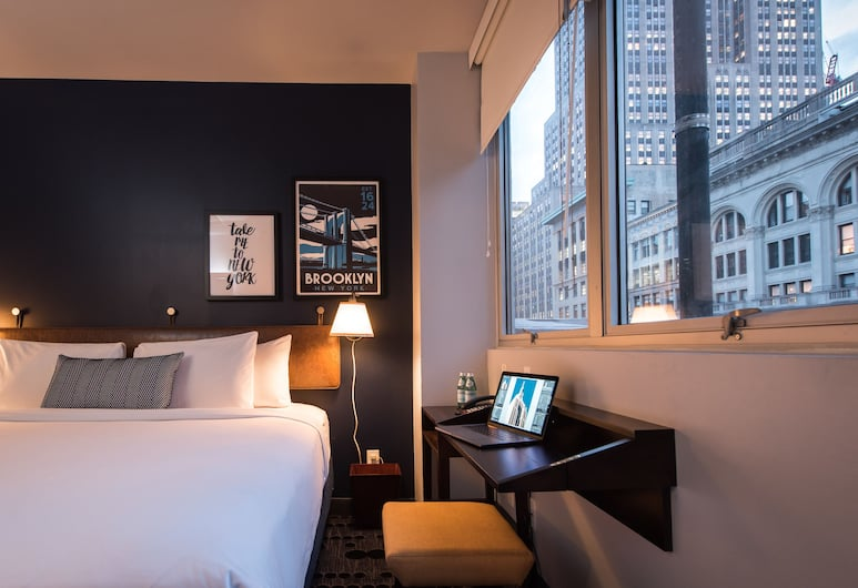 U Hotel Fifth Avenue, New York, Rom, 1 kingsize-seng (Contemporary), Gjesterom