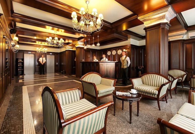 Chichikov Hotel, Kharkov, Sitteområde i lobbyen