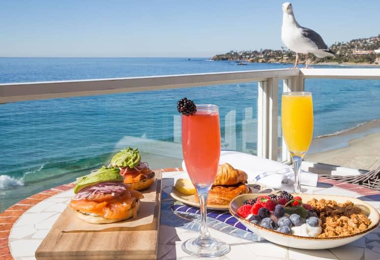 Pacific Edge Hotel on Laguna Beach, Laguna Beach, Açık Havada Yemek