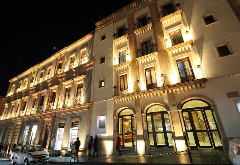 ميشن أرجينتو زاكاتيكاس, زاكاتيكاس, واجهة الفندق