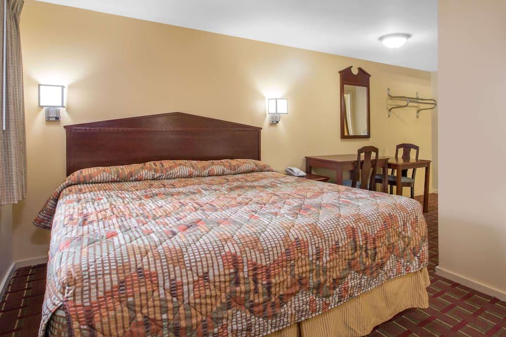 Standarta numurs, 1 divguļamā karalienes gulta, piekļuves iespējas personām ar kustību traucējumiem - Viesu numurs