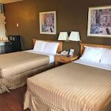 Soba, 2 bračna kreveta, za pušače - Soba za goste