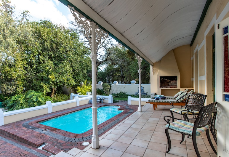 Evergreen Manor And Spa, Stellenbosch, Terasa