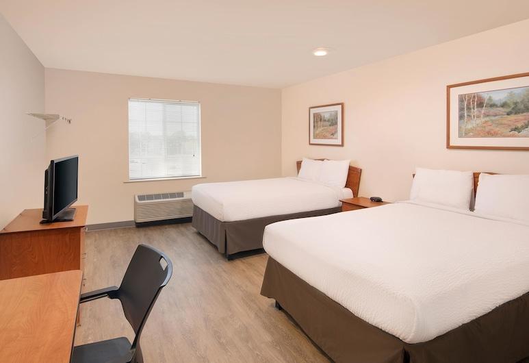 WoodSpring Suites Gulfport, Gulfport, Standard-studiolejlighed - 2 dobbeltsenge - køkken, Værelse