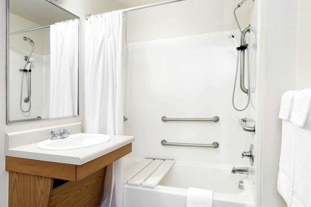標準客房, 1 張標準雙人床, 無障礙, 非吸煙房 - 浴室
