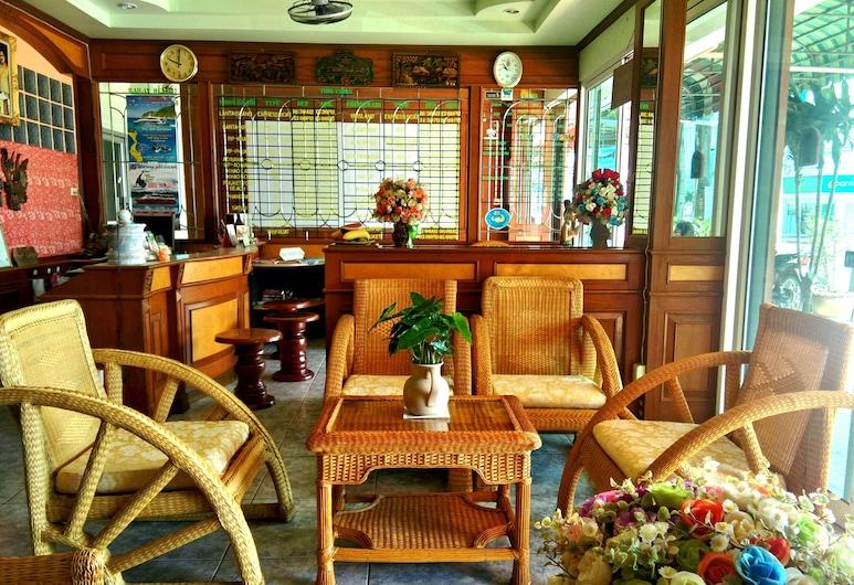 Thepparat Lodge Krabi, Krabi, Zitruimte lobby