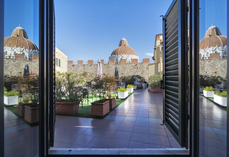 ホテル イル ジャルディーノ, ピサ, 中庭