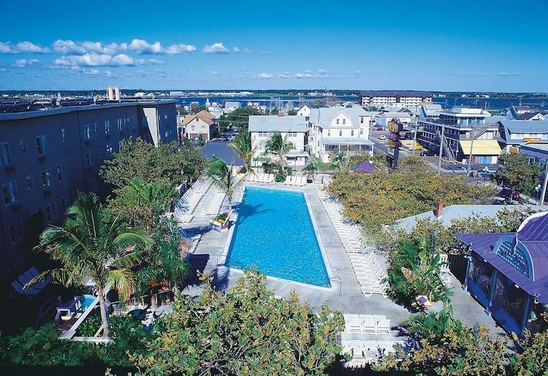 Plim Plaza Hotel, Ocean City, Utomhuspool