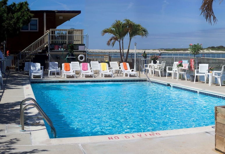 Oceanic Motel, Ocean City, Pool