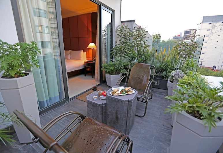 Hippodrome Hotel Condesa, Mexico City, Executive Suite, Terrace, Terrace/Patio